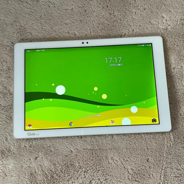 LG Electronics(エルジーエレクトロニクス)の★Qua tab PZ simフリー★ スマホ/家電/カメラのPC/タブレット(タブレット)の商品写真