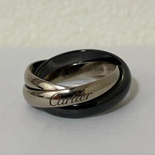 Cartier - Cartier トリニティ 黒セラミック 750 ホワイト