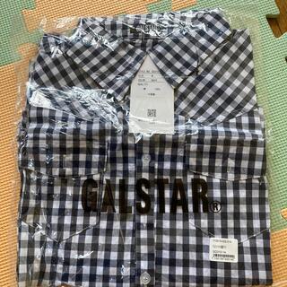 ギャルスター(GALSTAR)のギャルスター、ギンガムチェックシャツ ネイビー(シャツ/ブラウス(長袖/七分))