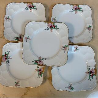タチキチ(たち吉)のたち吉リッチフィールド ケーキ皿5枚セット(食器)