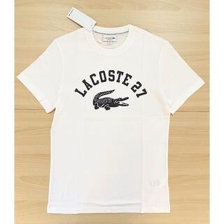 ラコステ(LACOSTE)の美品♪ ラコステ US:Mサイズ ☆ホワイト 半袖Tシャツ(Tシャツ/カットソー(半袖/袖なし))