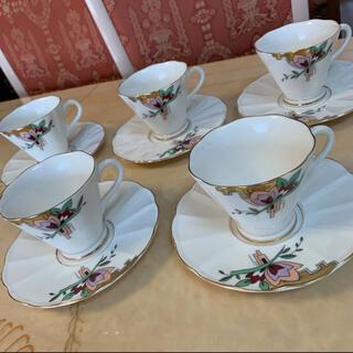 タチキチ(たち吉)のたち吉リッチフィールドコーヒーカップ5客セット(食器)