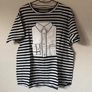 アイアムアイ(I am I)のI am I ボーダーシャツTシャツ(Tシャツ(半袖/袖なし))