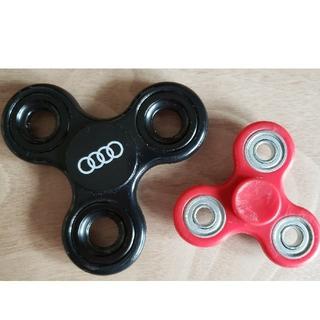 アウディ(AUDI)のハンドスピナー2個セット【黒:Audi非売品】(その他)