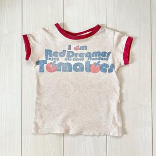 デニムダンガリー(DENIM DUNGAREE)のDENIM DUNGAREE◆ヴィンテージ ロゴ 半袖 Tシャツ 110cm(Tシャツ/カットソー)