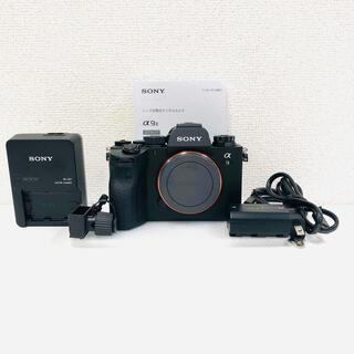 SONY - 美品 SONY α9II ILCE-9M2 デジタル フルサイズミラーレス