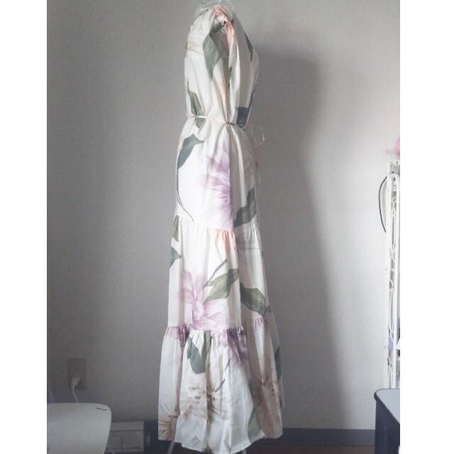 eimy istoire(エイミーイストワール)のRomanaflowerリラックスラインワンピース レディースのワンピース(ロングワンピース/マキシワンピース)の商品写真