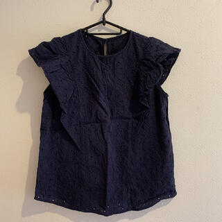 ジーユー(GU)のGU トップス ブラウス(シャツ/ブラウス(半袖/袖なし))