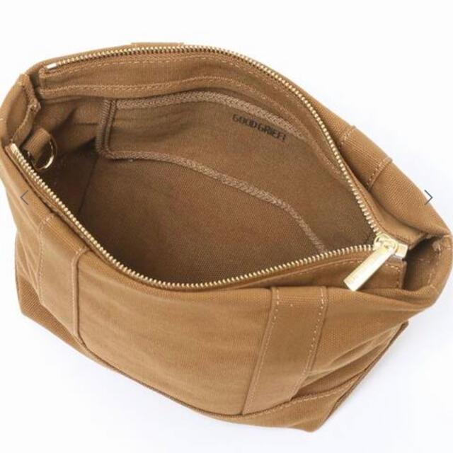 L'Appartement DEUXIEME CLASSE(アパルトモンドゥーズィエムクラス)の【GOOD GRIEF/グッドグリーフ】Canvas Cluch Bag(S) レディースのバッグ(ショルダーバッグ)の商品写真