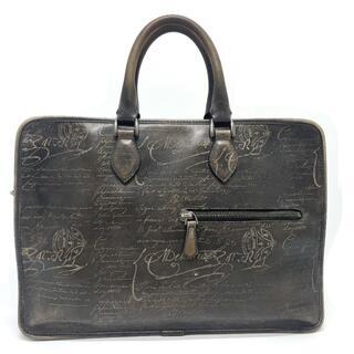 ベルルッティ(Berluti)のBerluti ベルルッティ カリグラフィ アンジュール ビジネスバッグ 茶色系(ビジネスバッグ)