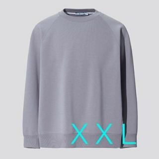 ユニクロ(UNIQLO)のUNIQLO +J ドライスウェットシャツ XXL グレー(スウェット)