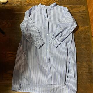 ジーユー(GU)のシャツチュニック(チュニック)