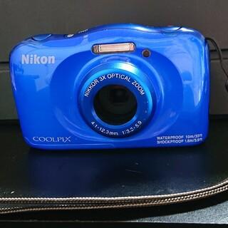 Nikon - Nikon cool pix w100 中古