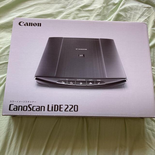 Canon(キヤノン)のCanon CanoScan LiDE220 新品・未開封品 スマホ/家電/カメラのPC/タブレット(PC周辺機器)の商品写真