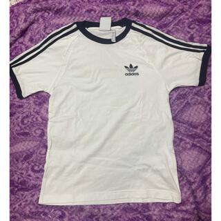 アディダス(adidas)のadidas アディダスTシャツ 白(Tシャツ(半袖/袖なし))