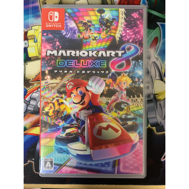 マリオカート8 デラックス Switch エンタメ/ホビーのゲームソフト/ゲーム機本体(家庭用ゲームソフト)の商品写真