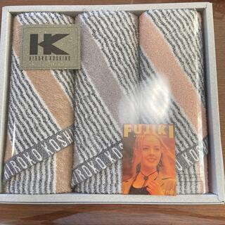 ヒロココシノ(HIROKO KOSHINO)のヒロココシノ フェイスタオル✖️3枚セット(タオル/バス用品)