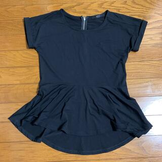 アズールバイマウジー(AZUL by moussy)のアズールバイマウジー ペプラムトップス 未使用 (Tシャツ(半袖/袖なし))