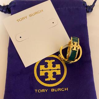 Tory Burch - Tory Burch ピアス グリーン