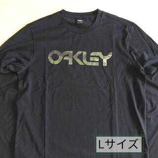 オークリー(Oakley)のOakley オークリー ロンT、長袖Tシャツ、OAKLEYロゴT、Lサイズ(Tシャツ/カットソー(七分/長袖))