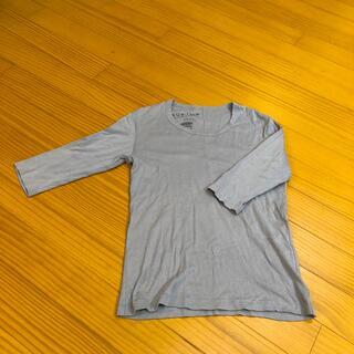 メンズインナー 五分袖 グレー(Tシャツ/カットソー(七分/長袖))