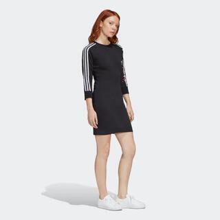 アディダス(adidas)のadidas アディダス タイトワンピース ハート(ミニワンピース)
