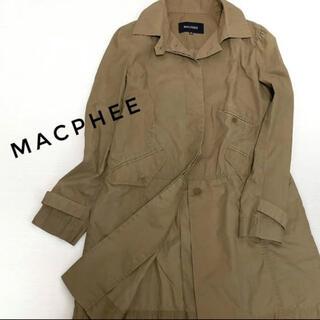 マカフィー(MACPHEE)の【MACPHEE】ミリタリーコート カーキー 色むらあり(ミリタリージャケット)