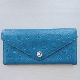 クレイサス(CLATHAS)のCLATHAS 長財布 ブルー(財布)