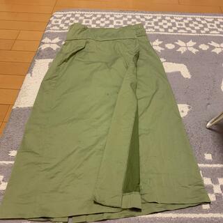 ディスコート(Discoat)のdiscoat 巻きスカート(ロングスカート)