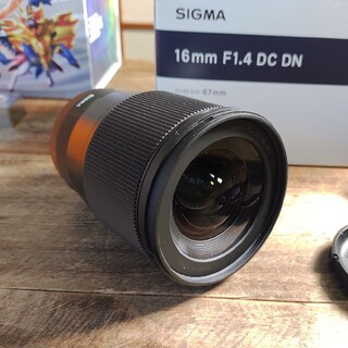 SIGMA - sigma 16mm f1.4 dc dn ソニー Eマウント
