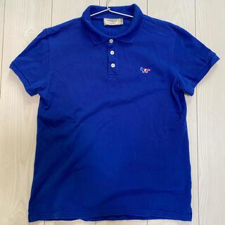 メゾンキツネ(MAISON KITSUNE')のMASON KITSUNE メゾンキツネ ポロシャツ 国内正規品 XS(ポロシャツ)