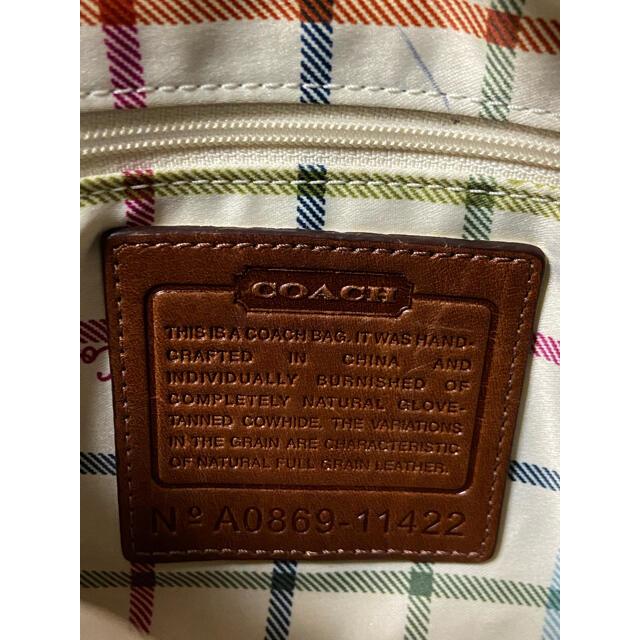 COACH(コーチ)の【再値下げ】OLD COACH  ショルダーバッグ【希少】 レディースのバッグ(ショルダーバッグ)の商品写真
