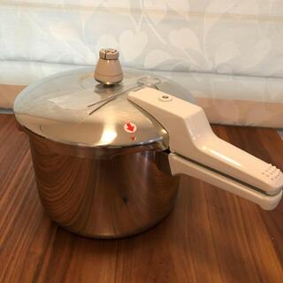 アサヒケイキンゾク(アサヒ軽金属)のアサヒ軽金属  5.5L 活力鍋 新品 IH(鍋/フライパン)