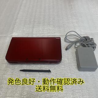 ニンテンドー3DS - Newニンテンドー3DS LL メタリックレッド