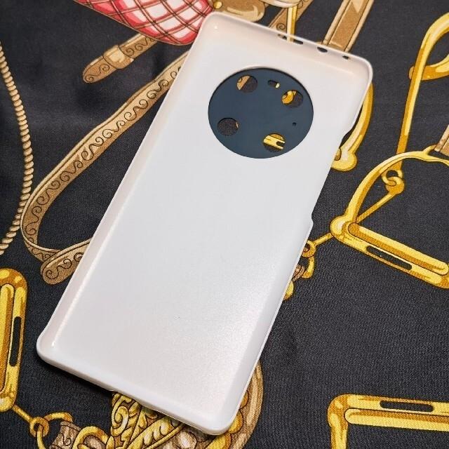 HUAWEI(ファーウェイ)のHUAWEI Mate40 Pro ポルシェデザインケース グロスホワイト 新品 スマホ/家電/カメラのスマホアクセサリー(Androidケース)の商品写真