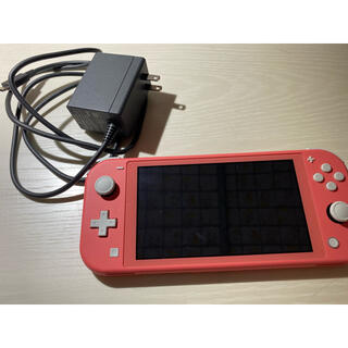 Nintendo Switch - ニンテンドースイッチ ライト コーラルピンク