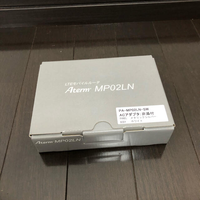 NEC(エヌイーシー)のNEC Aterm モバイルルーター スマホ/家電/カメラのPC/タブレット(PC周辺機器)の商品写真