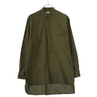 COMOLI - 新品 21SS comoli ベタシャン プルオーバーシャツ オリーブ サイズ2