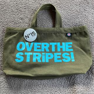 オーバーザストライプス(OVER THE STRIPES)のトートバッグ カーキ OVER THE STRIPES!(トートバッグ)