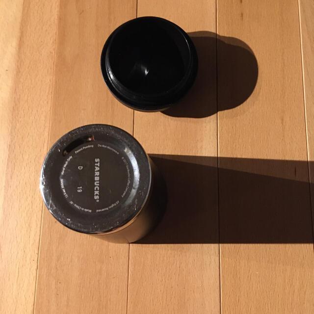 Starbucks Coffee(スターバックスコーヒー)のスターバックス ステンレスマグ 黒 インテリア/住まい/日用品のキッチン/食器(タンブラー)の商品写真