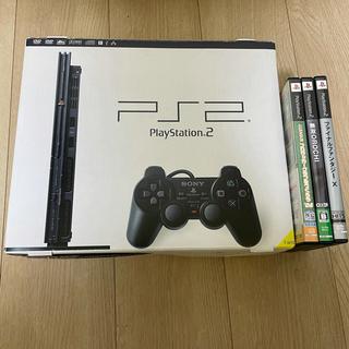 プレイステーション2(PlayStation2)のプレイステーション2本体 scph-70000(家庭用ゲーム機本体)