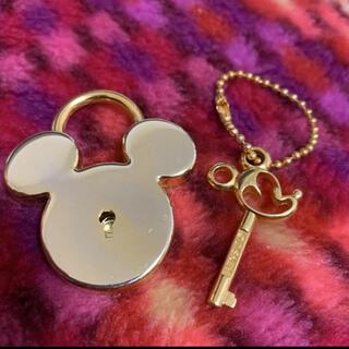 Disney - ディズニー ミッキーモチーフ南京錠