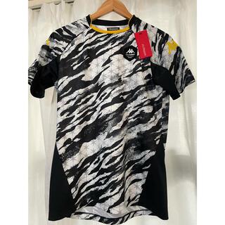 カッパ(Kappa)の【新品未使用】kappa Tシャツ カッパTシャツ 白黒メンズSサイズ(Tシャツ/カットソー(半袖/袖なし))