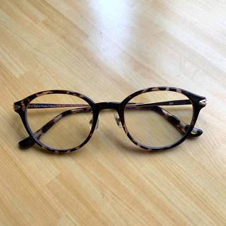 ゾフ(Zoff)のZoff 田中里奈コラボ 伊達メガネ 宅急便 眼鏡ケース付き(サングラス/メガネ)