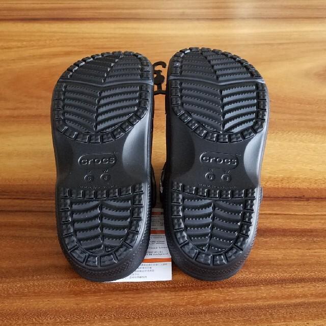 crocs(クロックス)の新品 24㎝ クロックス サンダル ブラック レディースの靴/シューズ(サンダル)の商品写真