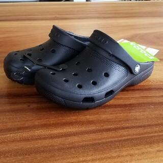 crocs - 新品 24㎝ クロックス サンダル ブラック