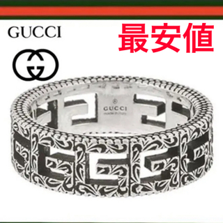 Gucci - GUCCI グッチ スクエア リング 19号