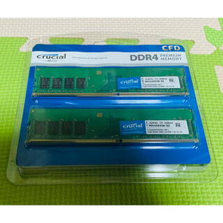 CFD PC用メモリ PC4-21300 8GB×2枚 288pin(PCパーツ)