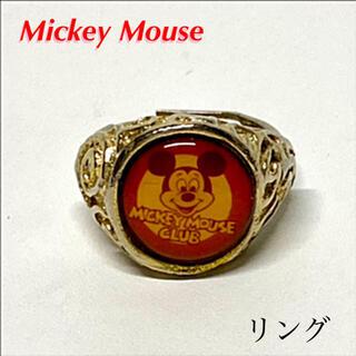 ディズニー(Disney)の希少 ミッキーマウス リング 指輪(リング(指輪))