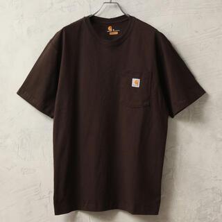 carhartt - 【Carhartt カーハート】ワンポイントロゴ ポケ付きTシャツ